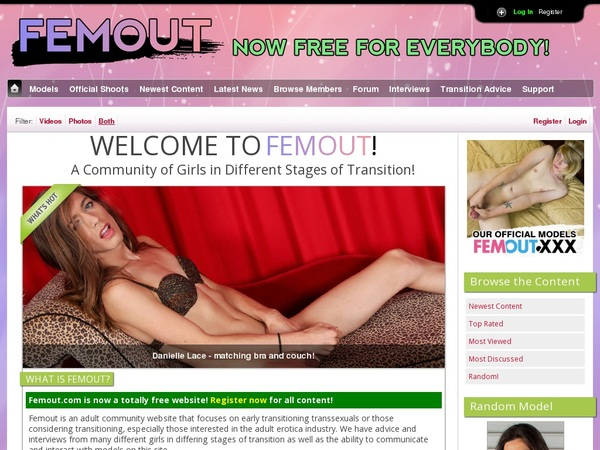 Femout Username