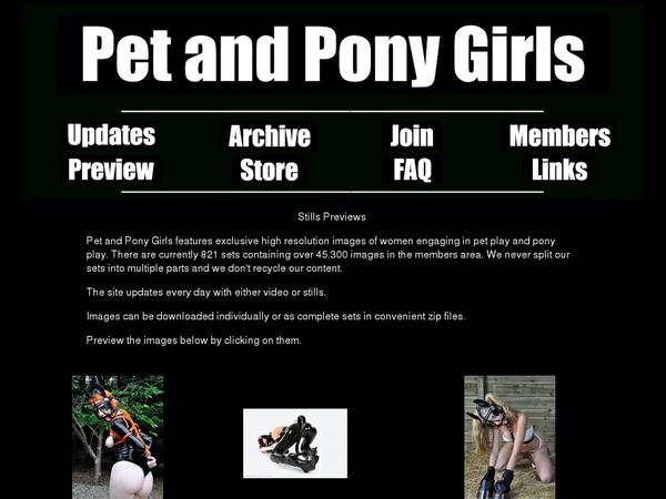 Free Petandponygirls.com Pass