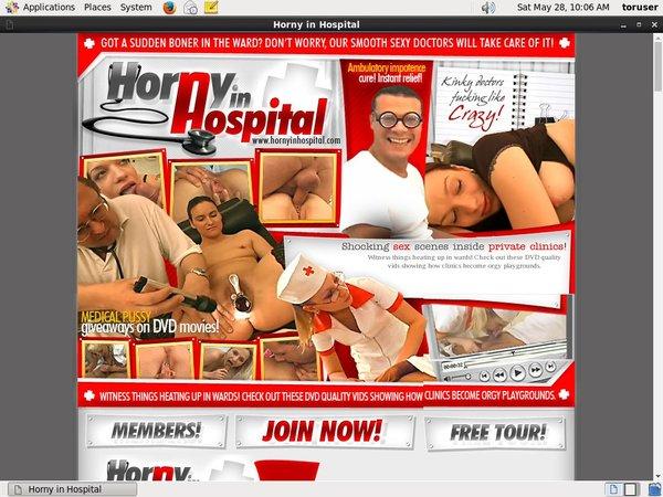 Horny In Hospital Solo