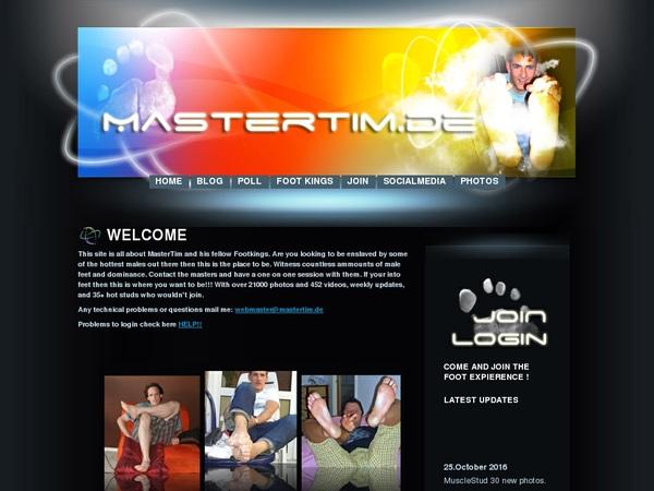 Master Tim User And Password