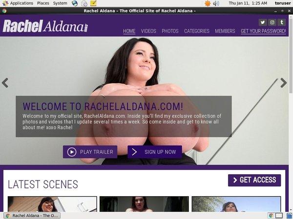Rachel Aldana Account Gratis