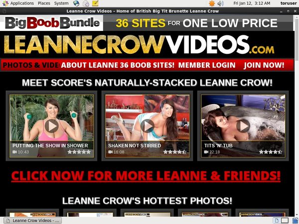 Register For Leanne Crow Videos