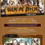 Suck Me Bitch Website Password