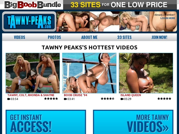Tawny Peaks Become A Member