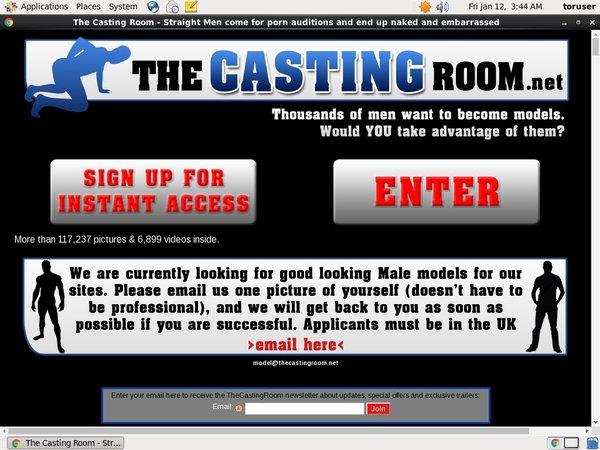 Thecastingroom.net Discount Link