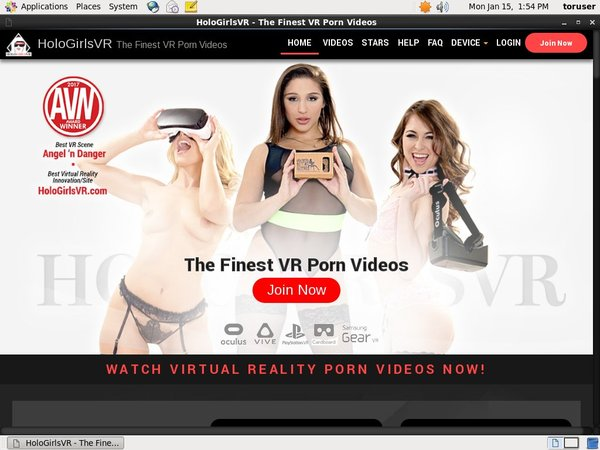 Holo Girls VR Kennwort