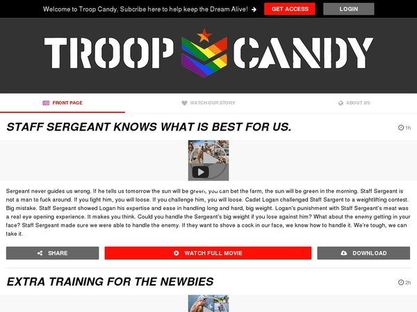 Troop Candy Gay Videos
