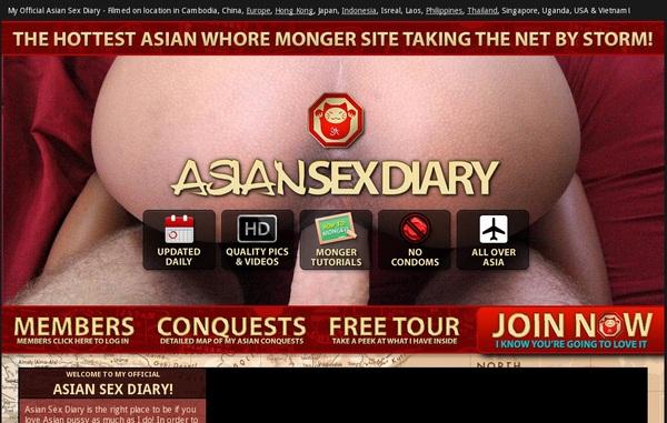 Asian Sex Diary Sign Up Link