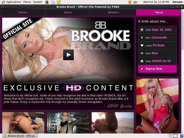 Brookebrandxxx Porn Account