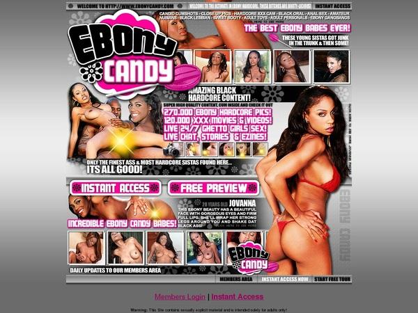 Ebony Candy Free Full