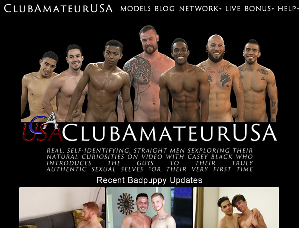 How To Get Club Amateur USA Account