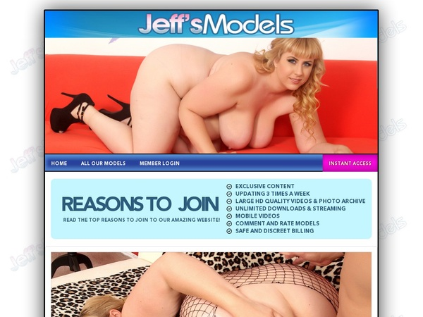 Jeff's Models Network Login