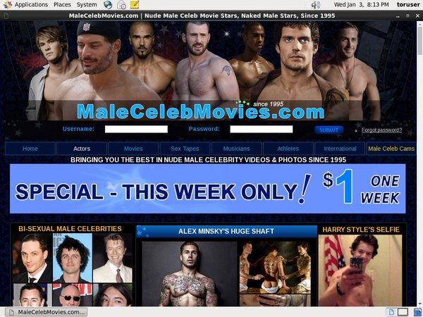 Male Celeb Movies Passwords
