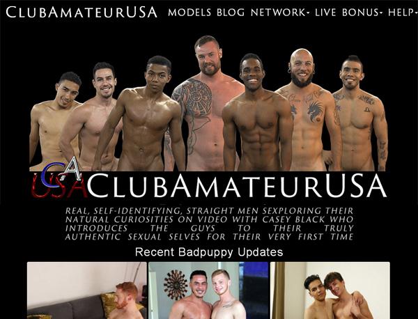 Club Amateur USA Account Logins