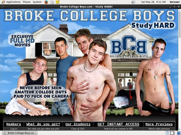 Brokecollegeboys.com Discount Price