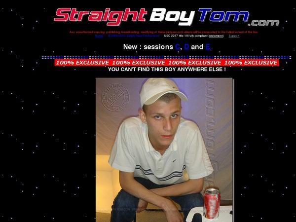 Straight Boy Tom Promo Code